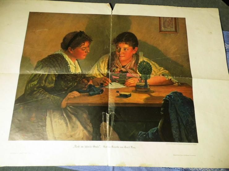 Kunstdruck Noch an Schön?n Gruß Emil Rau, Kuns