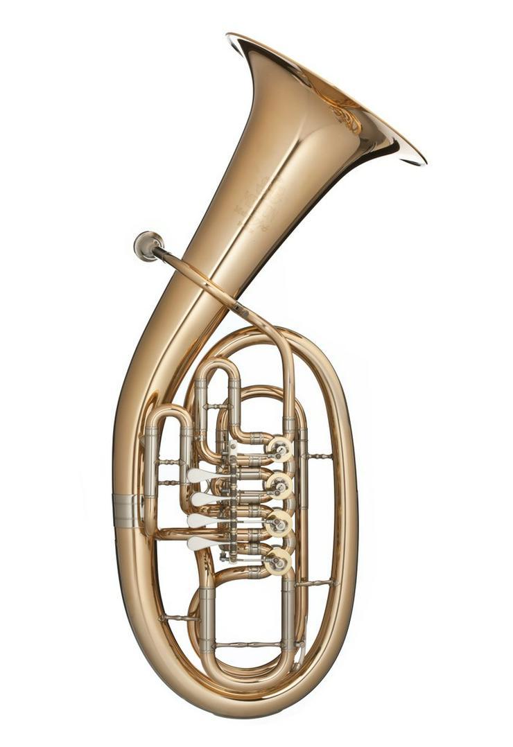 Melton MeisterArt Tenorhorn MAT24, Goldmessing - Blasinstrumente - Bild 1
