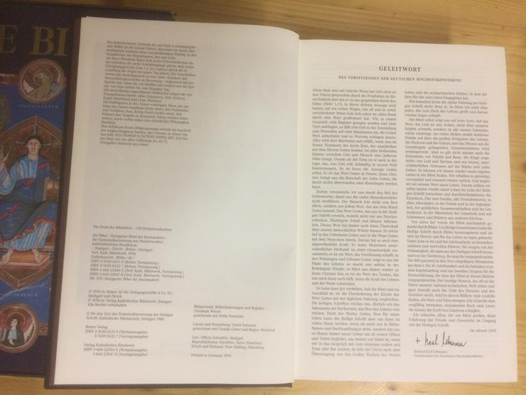 Bild 4: Bibel, Belyser Verlag, 1996.