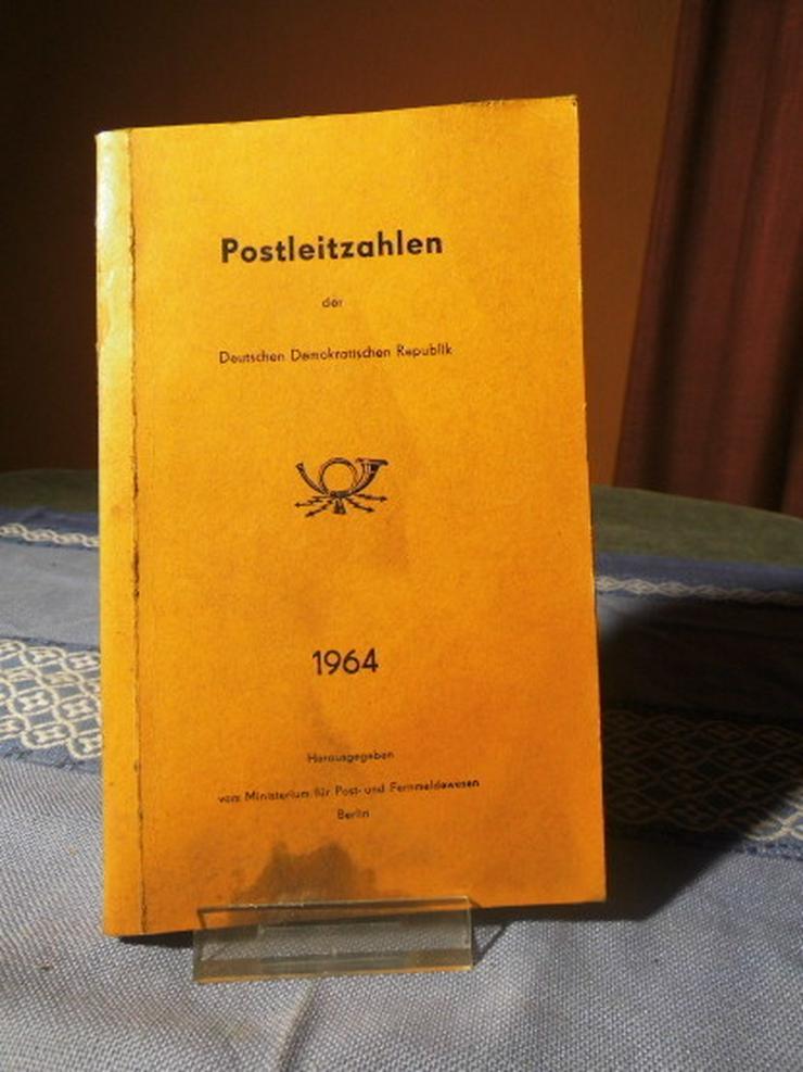 Postleitzahlenverzeichnis DDR 1964 / Postleitz