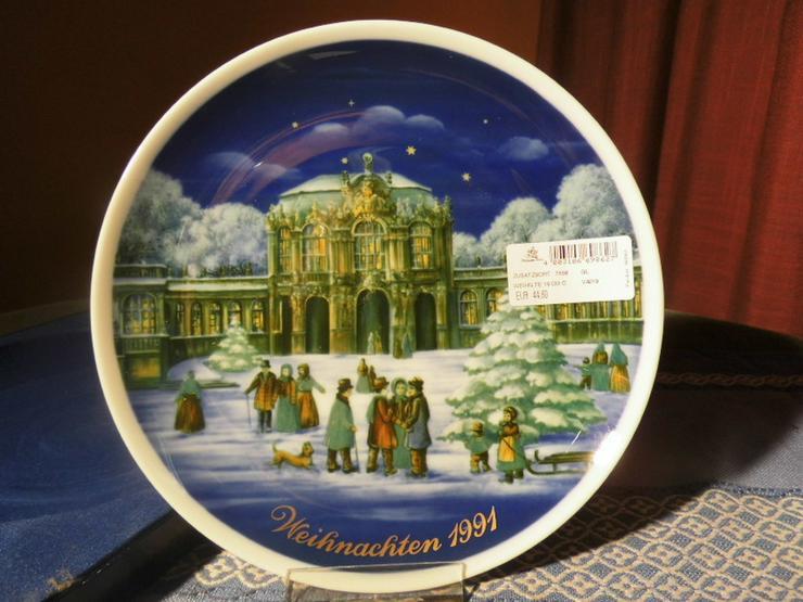 Royal Tettau Porzellan Sammelteller Weihnachte