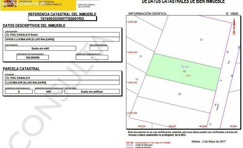 Bild 3: Grundstueck in 07639 - Cala Pi