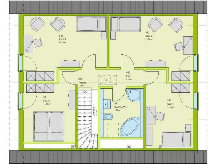 Bild 3: Viel Platz für Kind und Kegel