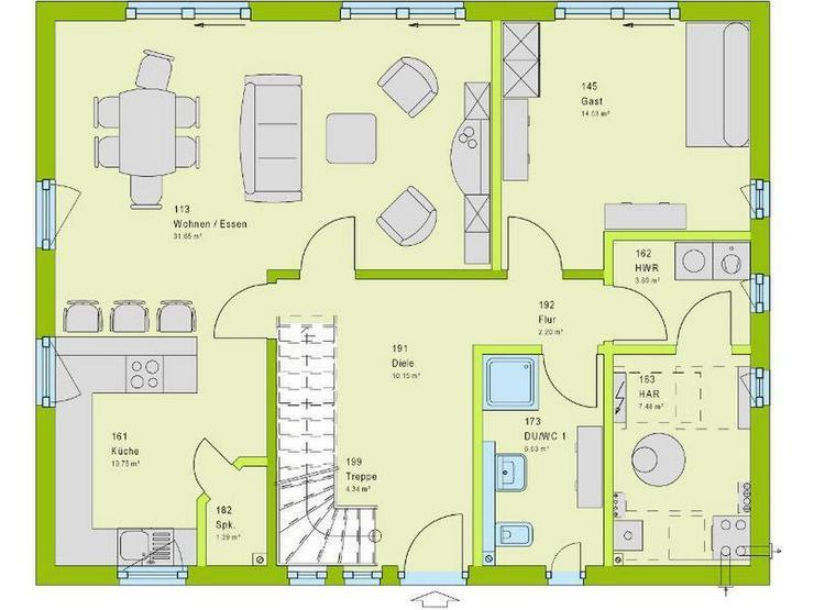 Bild 2: Viel Platz für Kind und Kegel