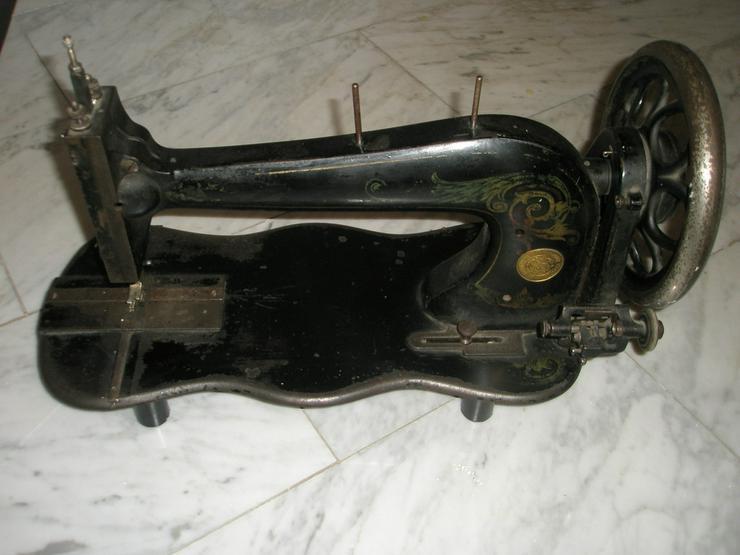 100 Jahre alter Nähmaschinenkopf  /  30€