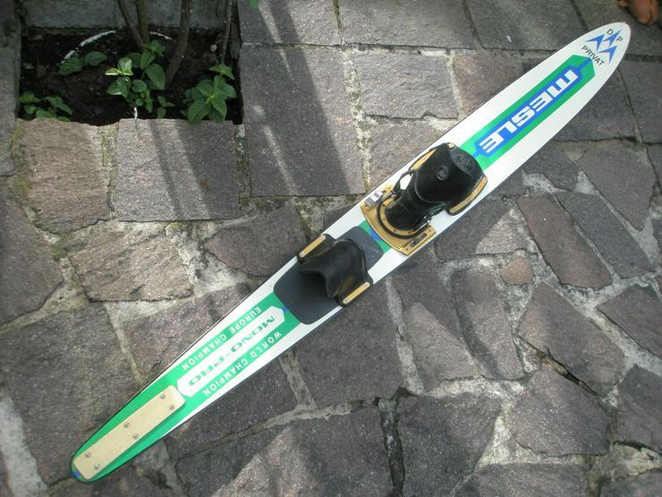 Gegen Gebot - Antiquarischer Wasserski  Mono Pro Fa.Mesle in Holz