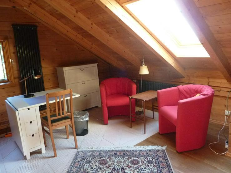 Bild 3: Möbl. Zimmer in Holzhaus ab 1. November 2018