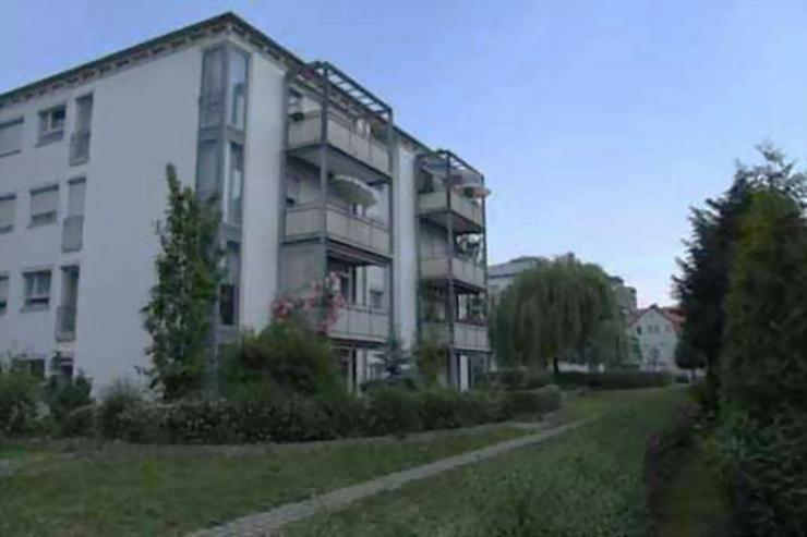 Bild 2: Außenstellplatz in der Schillerstraße 13 - 17 in Flöha