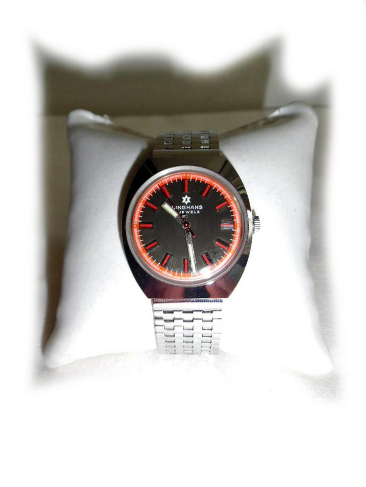 Sportliche Junghans Armbanduhr - neuwertig - Herren Armbanduhren - Bild 1