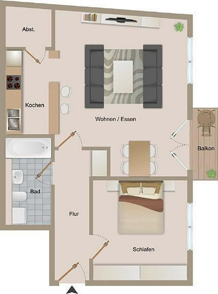 Gemütliche 2-Zimmerwohnung - Bild 1