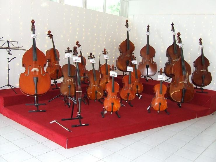 Kontrabässe-Celli-Violinen-Violen Neu/gebraucht