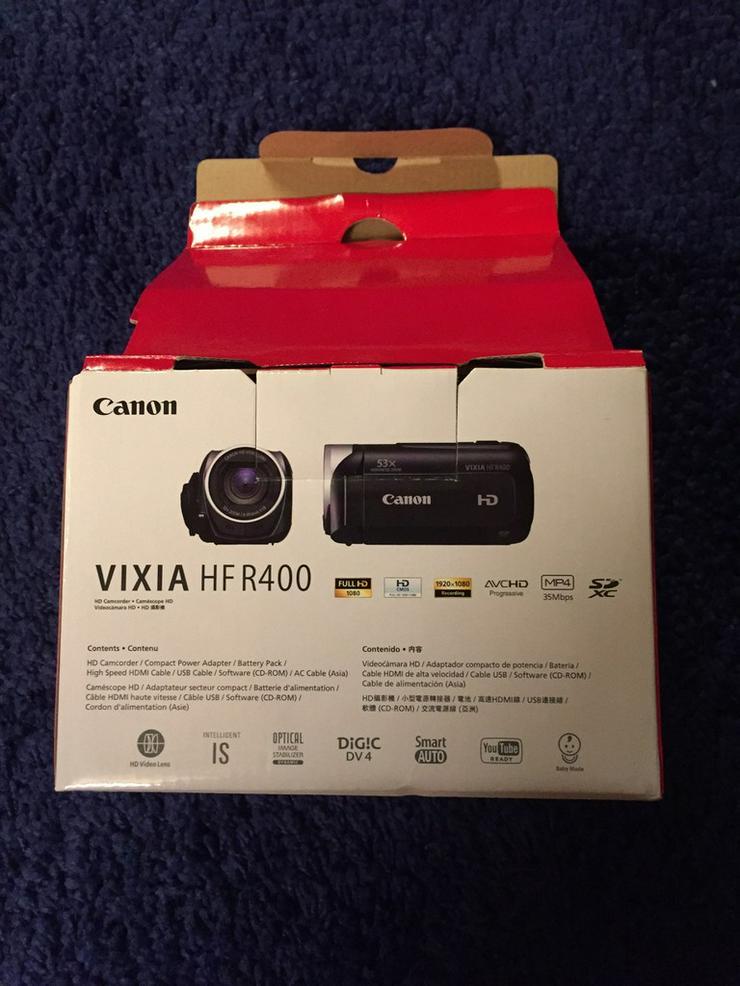 Bild 2: Canon Vixia Hfr 400