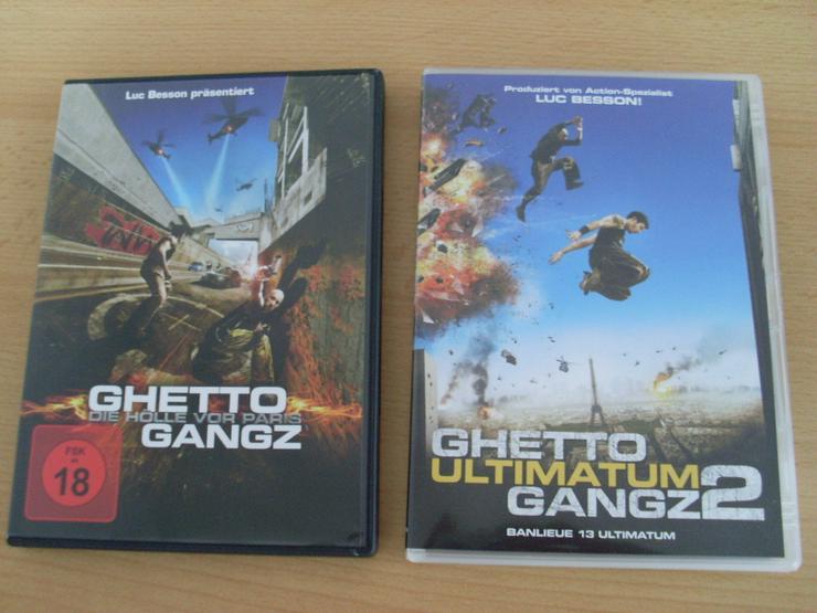 Ghetto Gangz 1 + 2 DVD Full UNCUT Super Bass - DVD & Blu-ray - Bild 1