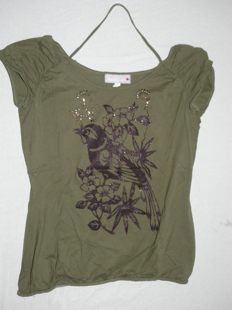 T-Shirt mit Vogel