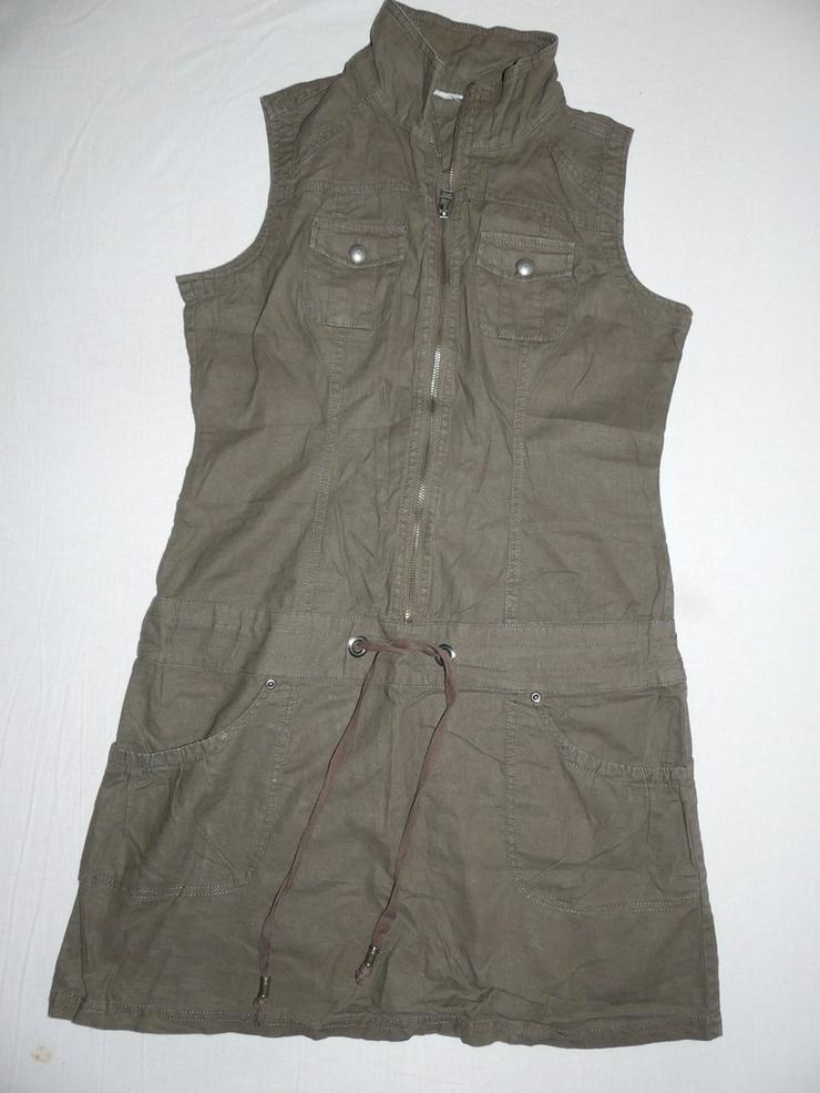 braunes kurzes Kleid oder langes Oberteil