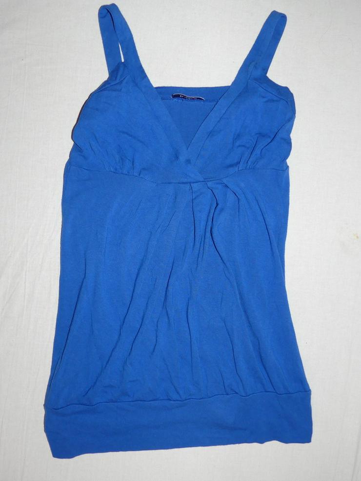 blaues Top, Größe S/M