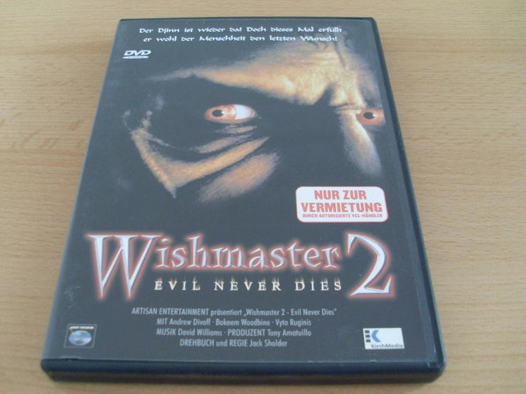 Wishmaster 2: Evil Never Dies Uncut DVD - Bild 1
