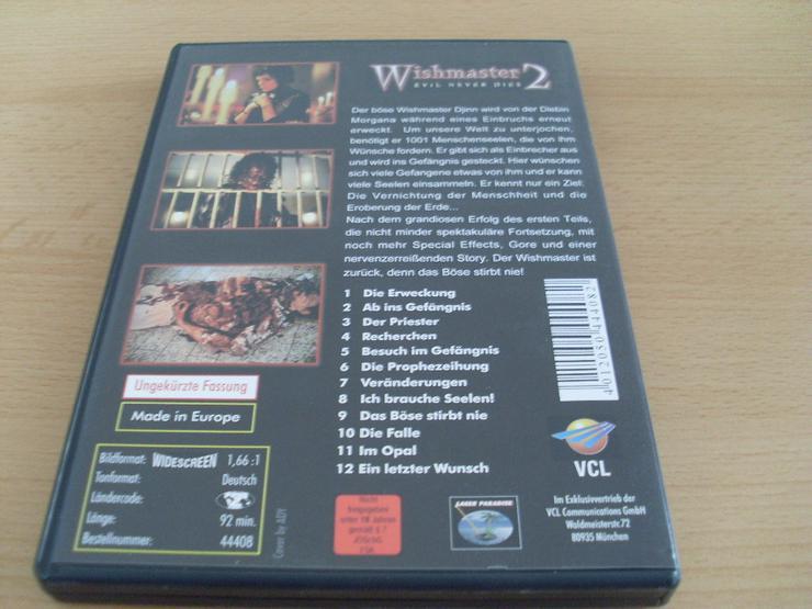 Bild 2: Wishmaster 2: Evil Never Dies Uncut DVD
