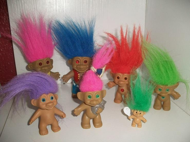 Trollfamilie - Puppen - Bild 1