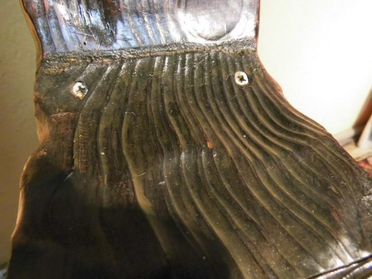 Bild 6: 2 schöne antike Wurzelholzstühle um 1900 / Dre