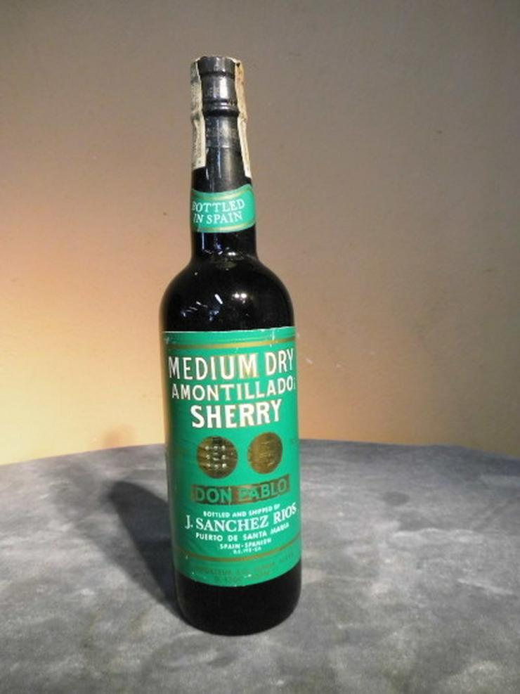 Rarität, 1 Flasche Don Pablo Medium Dry Amonti