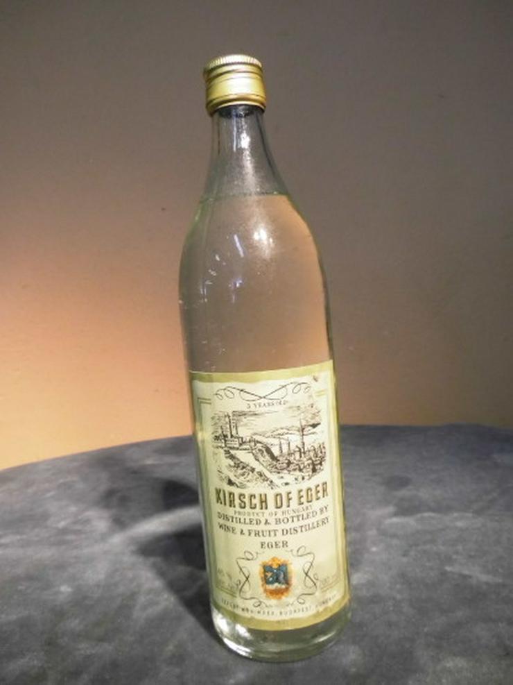 1 Flasche KIRSCH OF EGER, Kirsch-Wasser für de