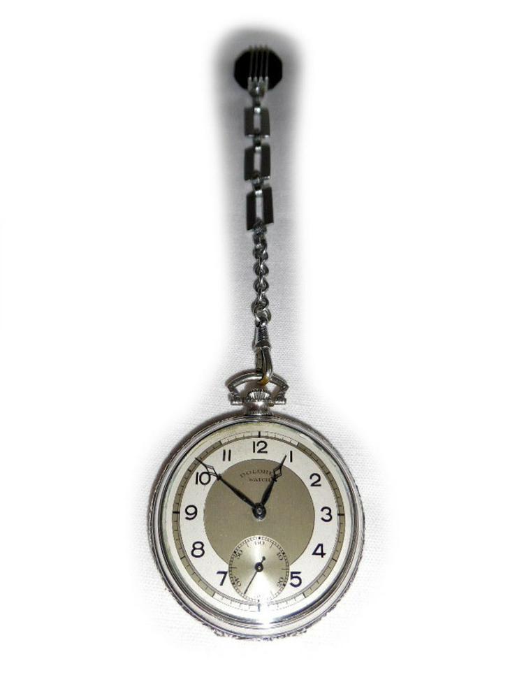 Seltene Taschenuhr von Dolores Watch