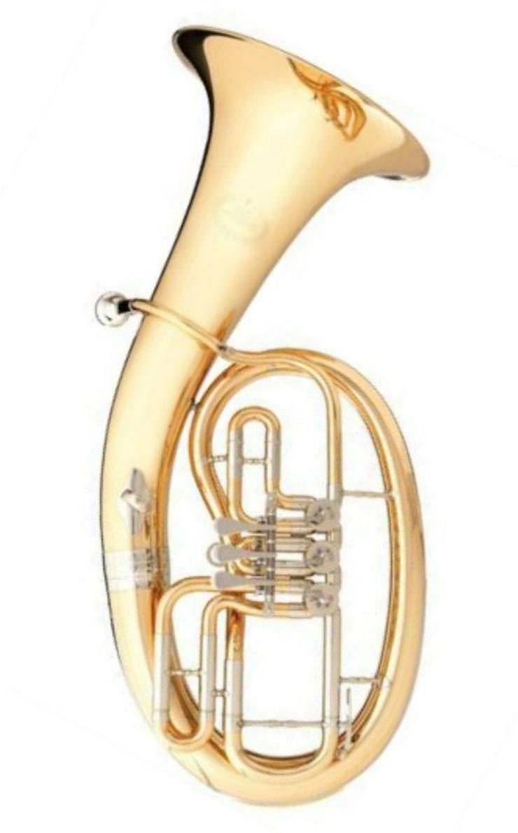 B&S 3042 Goldmessing Bariton inkl. Koffer, Neu - Blasinstrumente - Bild 1