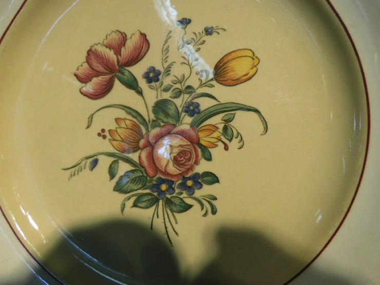 Bild 3: Antiker Teller VILLEROY & BOCH Mettlach, Serie