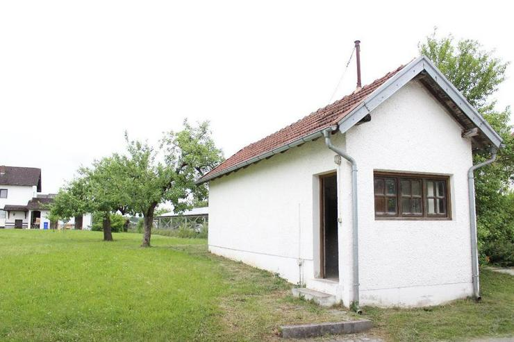 Freie Gartenfläche inkl. Gartenhaus