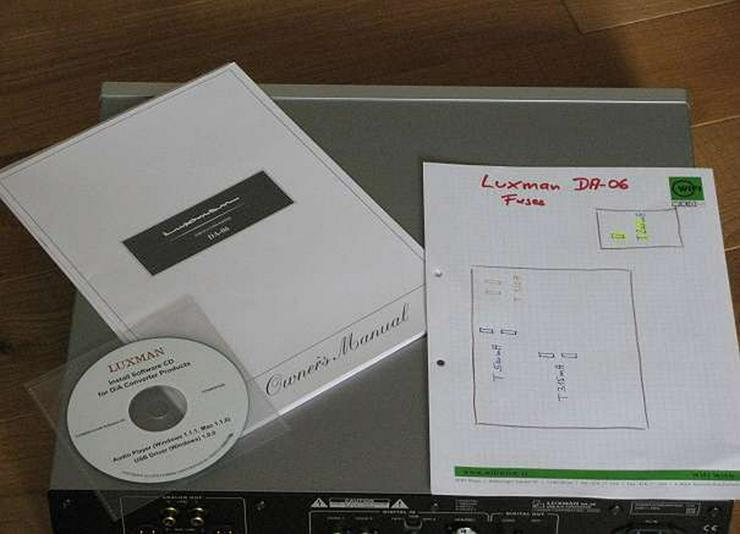 Bild 5: Luxman DA-06 - DSD128 Native - DAC