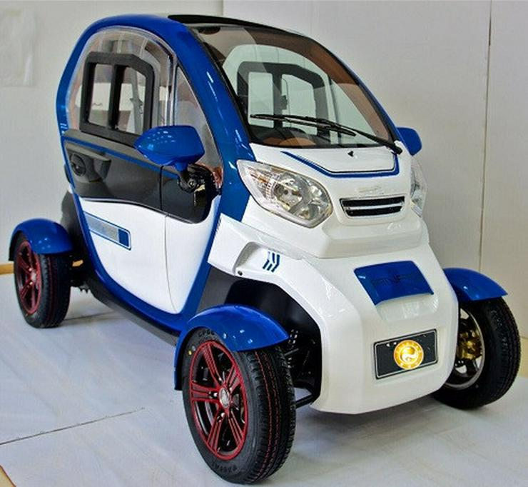 Bild 2: Elektromobil Scooter 4 Rad Kabinenscooter