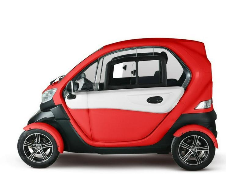 Bild 3: Elektromobil Scooter 4 Rad Kabinenscooter