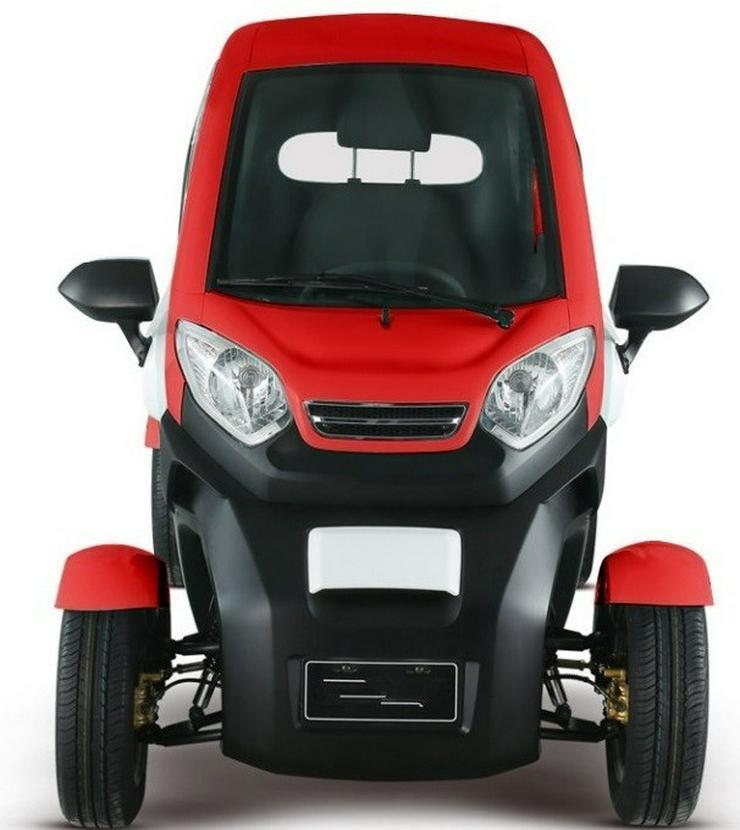 Bild 4: Elektromobil Scooter 4 Rad Kabinenscooter