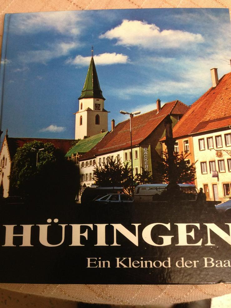 Hüfingen-Baar-Buch handsigniert-