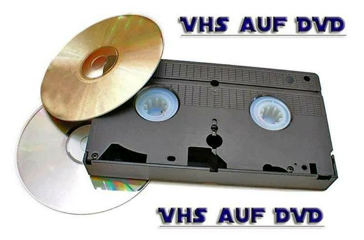 VHS auf DVD - sichern Sie ihre Schätze - PC & Multimedia - Bild 1