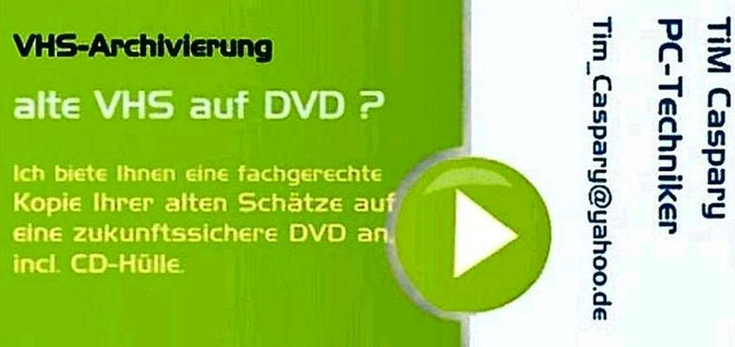 Bild 2: VHS auf DVD - sichern Sie ihre Schätze