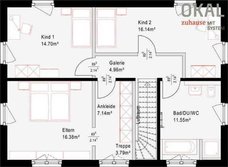 Bild 2: Modernes Einfamilienhaus