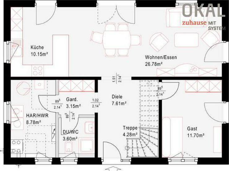 Bild 3: Modernes Einfamilienhaus
