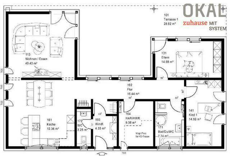 Bungalow - Haus kaufen - Bild 1