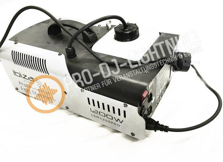Ibiza LSM1200PRO Nebelmaschine mieten