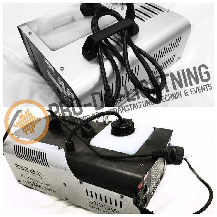 Verleih LED Nebelmaschinen / Nebeleffekte