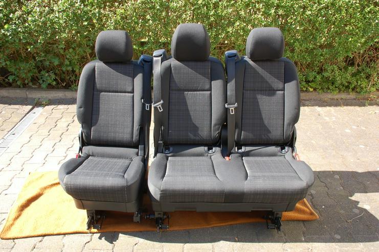 Sitzbank Komfort Mercedes Benz Vito - Sitze, Bezüge & Auflagen - Bild 1