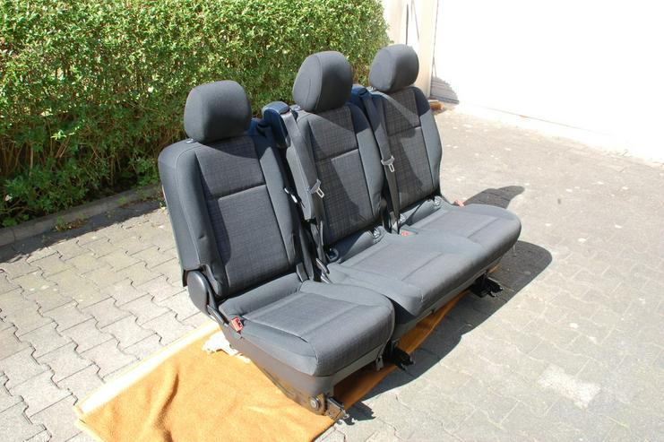 Bild 2: Sitzbank Komfort Mercedes Benz Vito