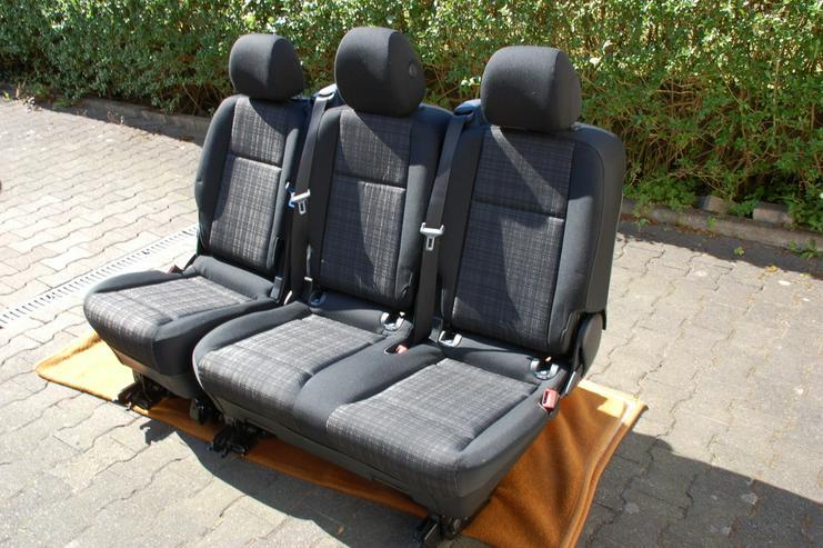 Bild 3: Sitzbank Komfort Mercedes Benz Vito