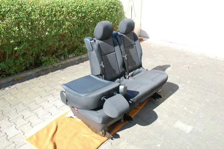 Bild 4: Sitzbank Komfort Mercedes Benz Vito