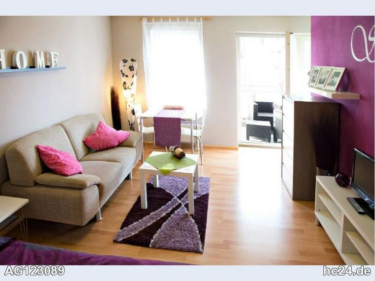 Moderne 1- Zimmer Wohnung in Weil am Rhein, möbliert - Bild 1