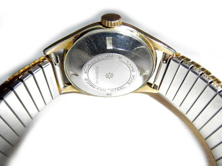 Bild 3: Goldene Junghans Armbanduhr
