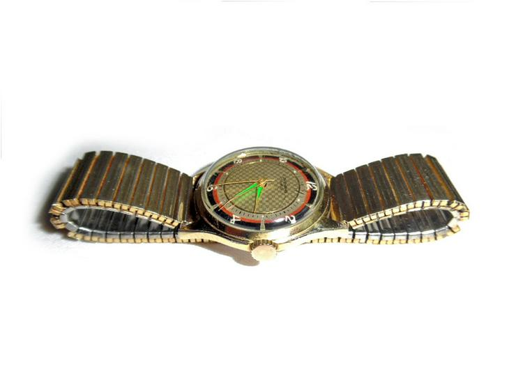 Bild 4: Goldene Junghans Armbanduhr