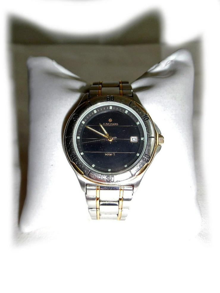 Armbanduhr von Junghans Solar 1 - Herren Armbanduhren - Bild 1